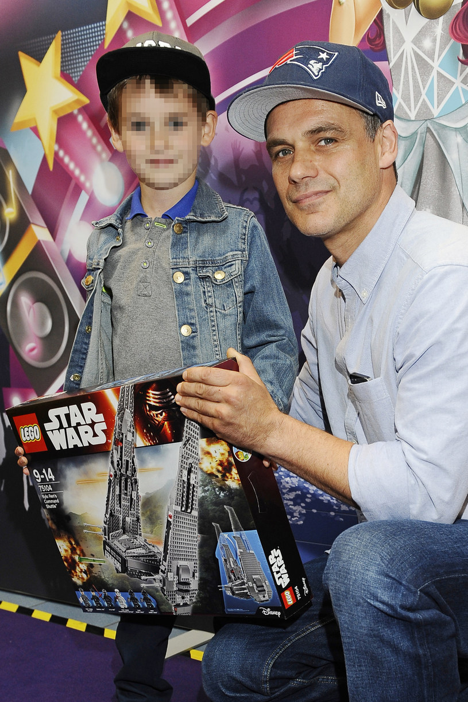 Jan Wieczorkowski z synem Janem /Niemiec /AKPA