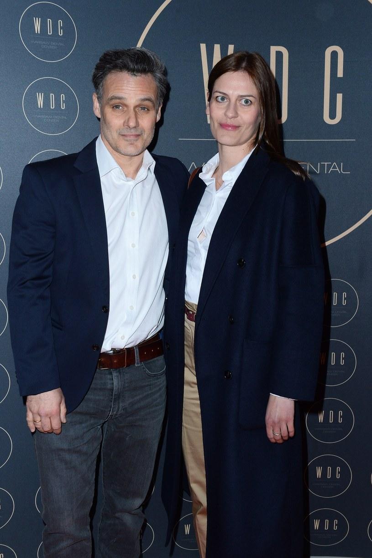 Jan Wieczorkowski z żoną Urszulą w kwietniu 2019 roku /Mateusz Jagielski /East News