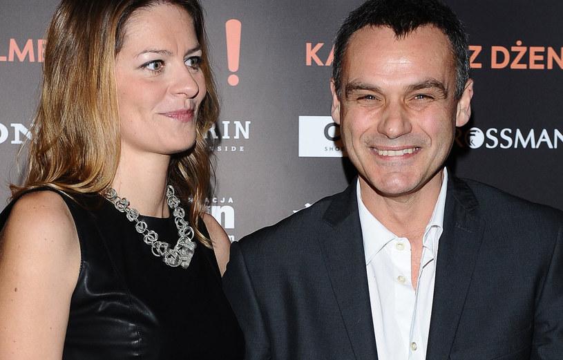 Jan Wieczorkowski z żoną /Andras Szilagyi /MWMedia