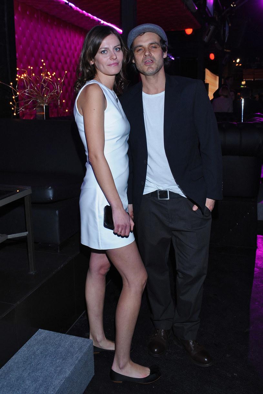 Jan Wieczorkowski z żoną /Jarosław Antoniak /MWMedia
