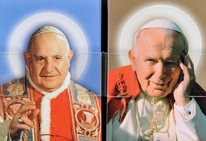 Jan XXIII i Jan Paweł II /AFP