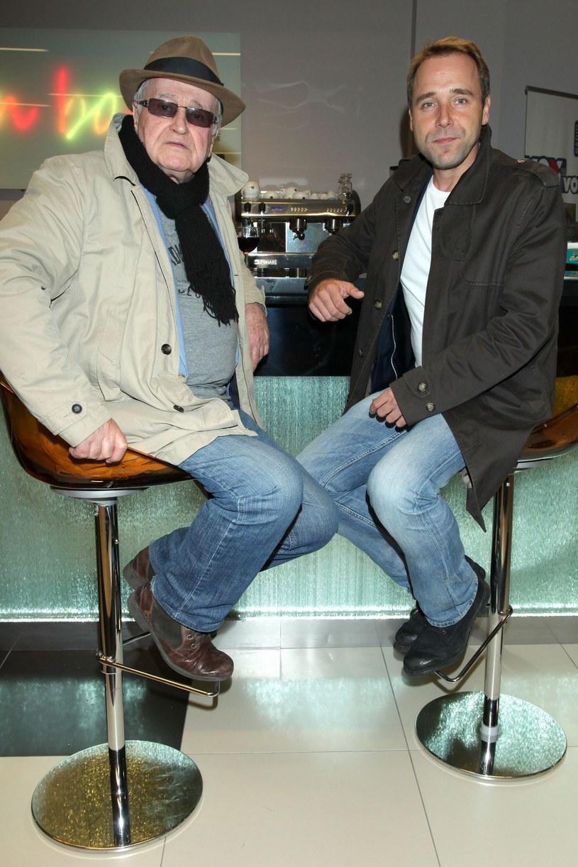 Jan z synem Łukaszem /- /East News