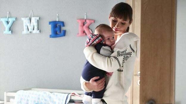 Jance zależało na tym, by zostać opiekunką Szymka /www.mjakmilosc.tvp.pl/