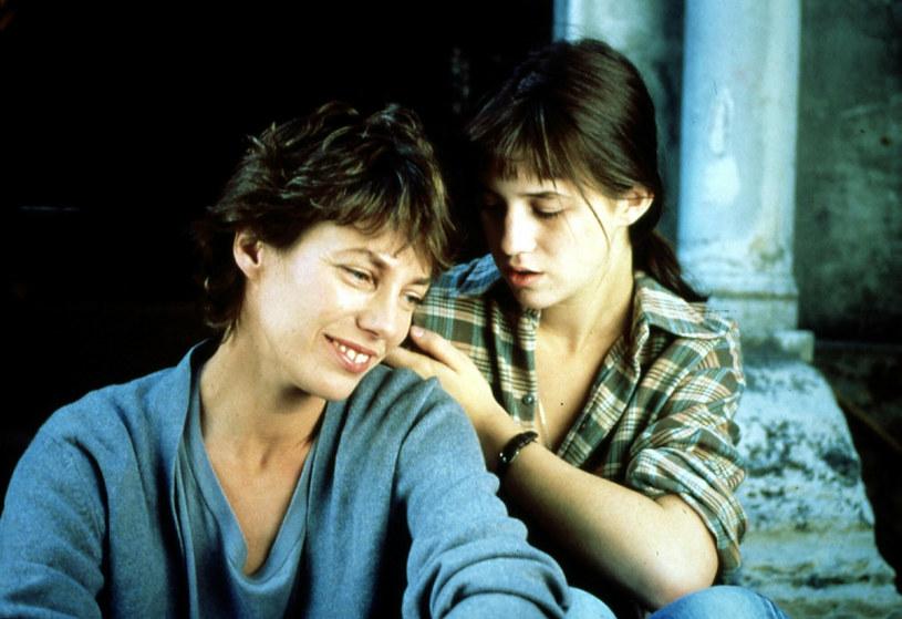 "Jane Birkin i Charlotte Gainsbourg w filmie ""Kung-fu Master"" /United Archives/IFA Film  /East News"