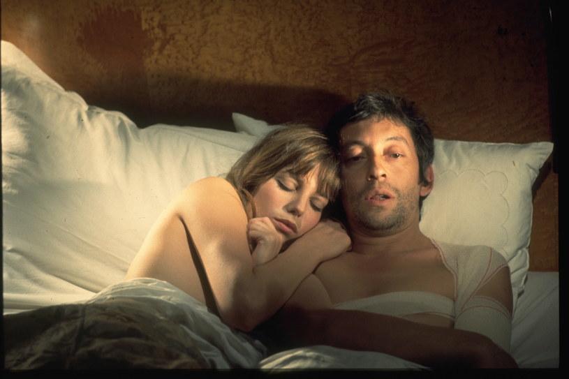 "Jane Birkin i Serge Gainsbourg na planie filmu ""Cannabis"" /Sunset Boulevard/Corbis /Getty Images"