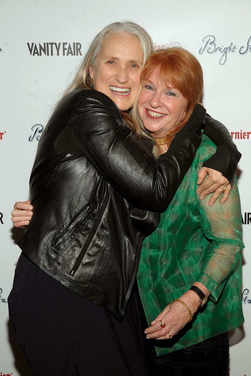 """Jane Chapman (P) z reżyserką Jane Campion (L) podczas premiery """"Jaśniejszej od gwiazd"""" /Jamie McCarthy /Getty Images"""