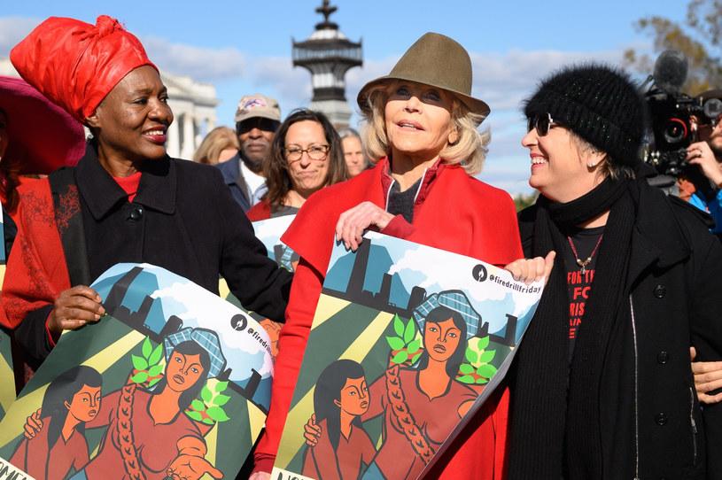 Jane Fonda zapowiedziała, że będzie brała udział w cotygodniowych demonstracjach na Kapitolu do stycznia 2020 r. /Polaris Images /East News