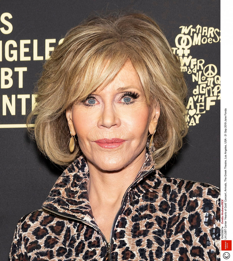 Jane Fonda /Ovidiu Hrubaru/REX /East News
