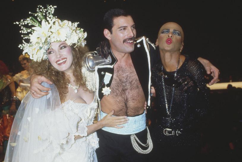 Jane Seymour i Freddie Mercury /Dave Hogan /Getty Images