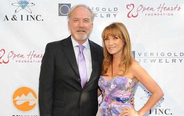 Jane Seymour i James Keach rozwiedli się! /Angela Weiss /Getty Images