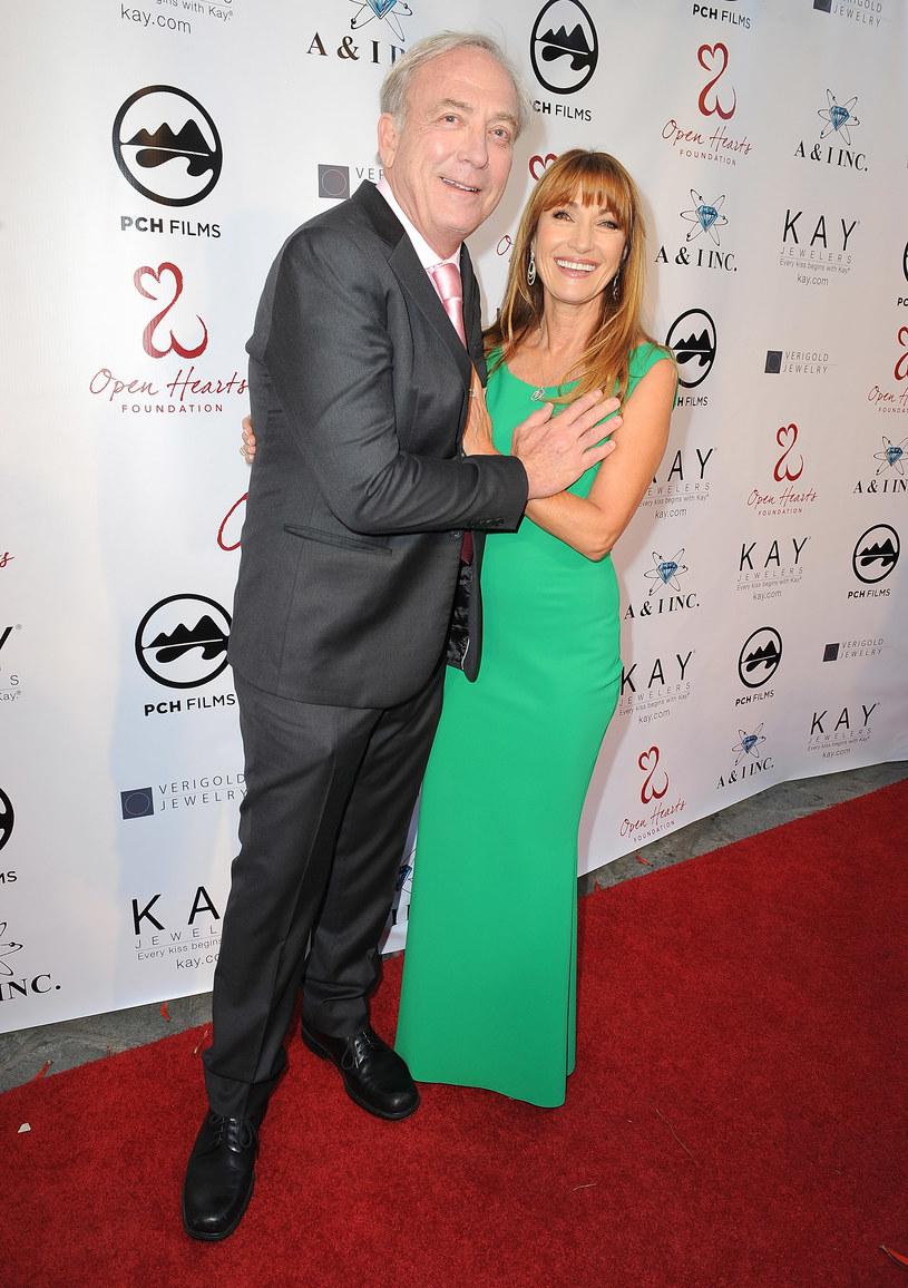 Jane Seymour i James Keach /Angela Weiss /Getty Images