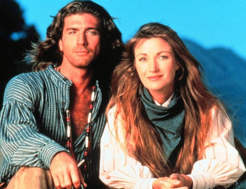 Jane Seymour i Joe Lando, czyli Michaela Quinn i Byron Sully /SIPA /East News