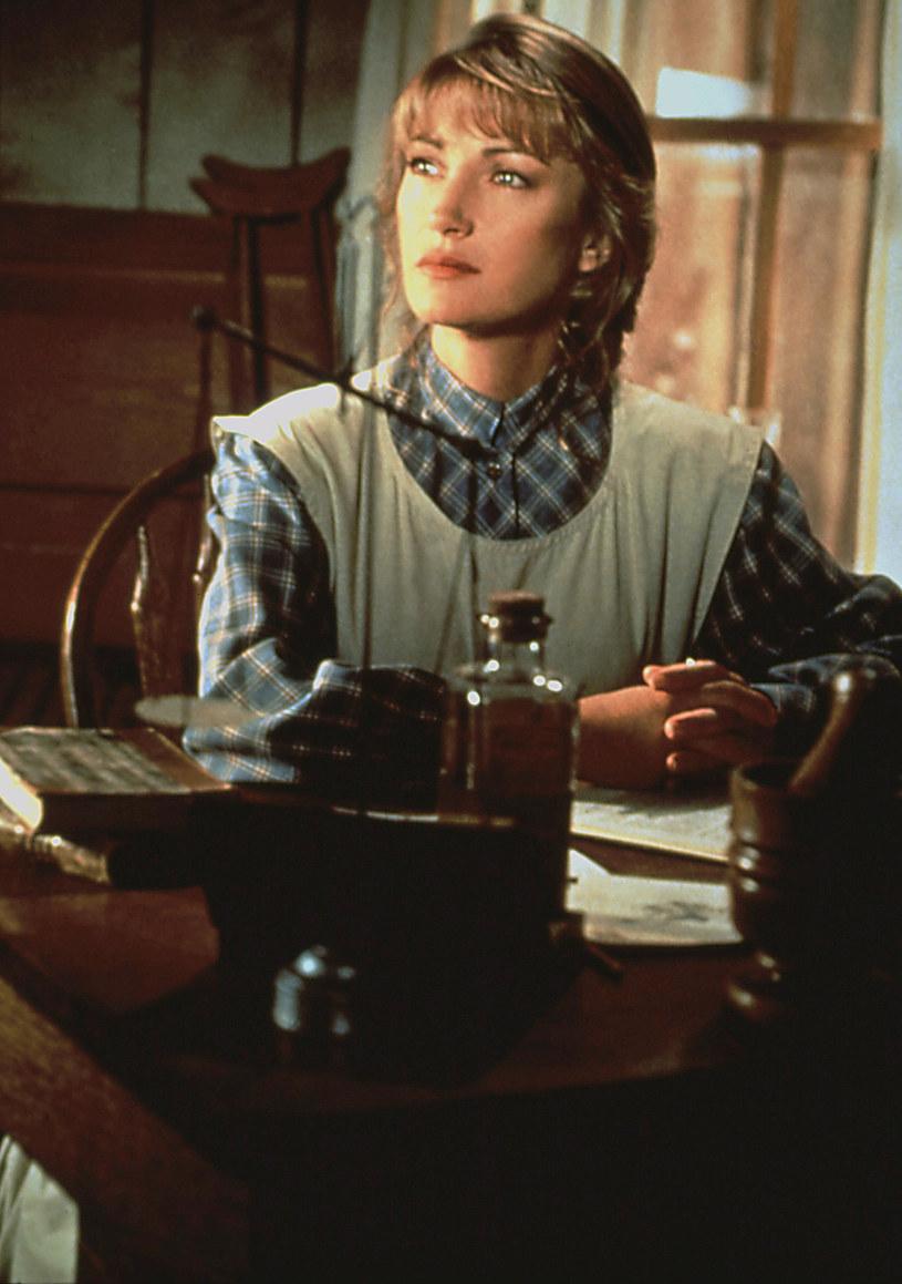 "Jane Seymour na planie serialu ""Dr Quinn"" /AKPA /AKPA"