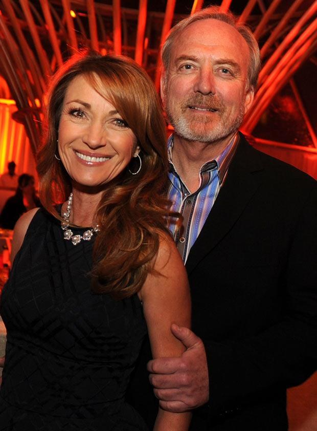 Jane Seymour z mężem, fot. Kevin Winter  /Getty Images/Flash Press Media