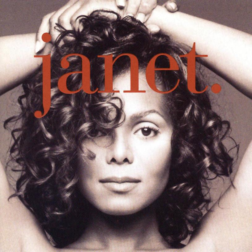 """Janet Jackson na okładce płyty """"Janet"""" /"""