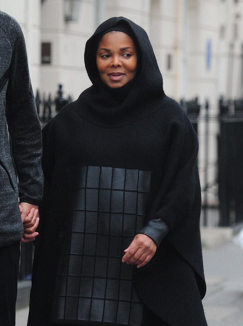 Janet Jackson z mężem /- /Agencja FORUM