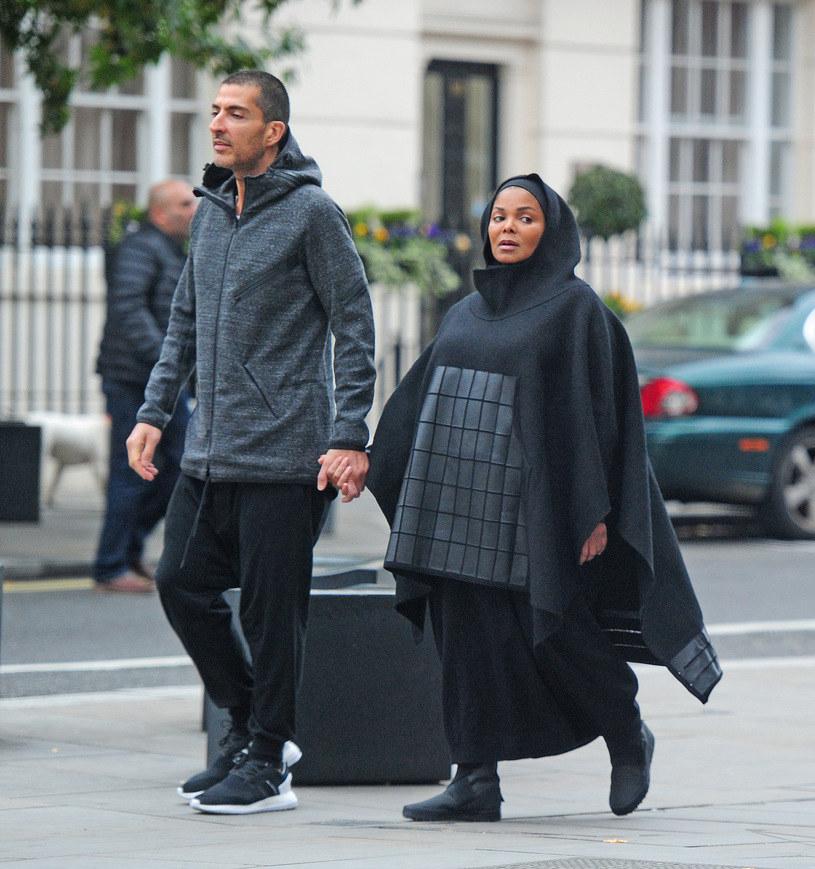 Janet Jackson z mężem /Agencja FORUM