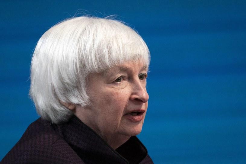 Janet Yellen, minister finansów USA /AFP