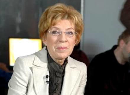 Janina Paradowska w Klubie Pod Jaszczurami/fot. M. Ulatowski /MWMedia