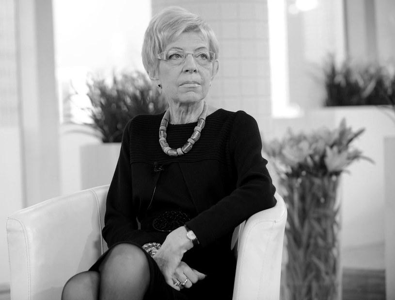 Janina Paradowska zmarł w wieku 74 lat /Bartosz Krupa /East News