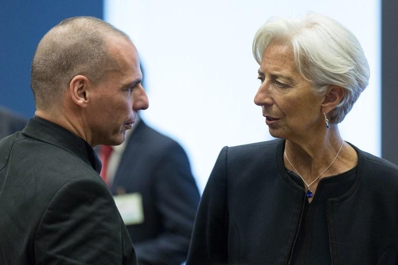 Janis Warufakis i Christine Lagarde /AFP