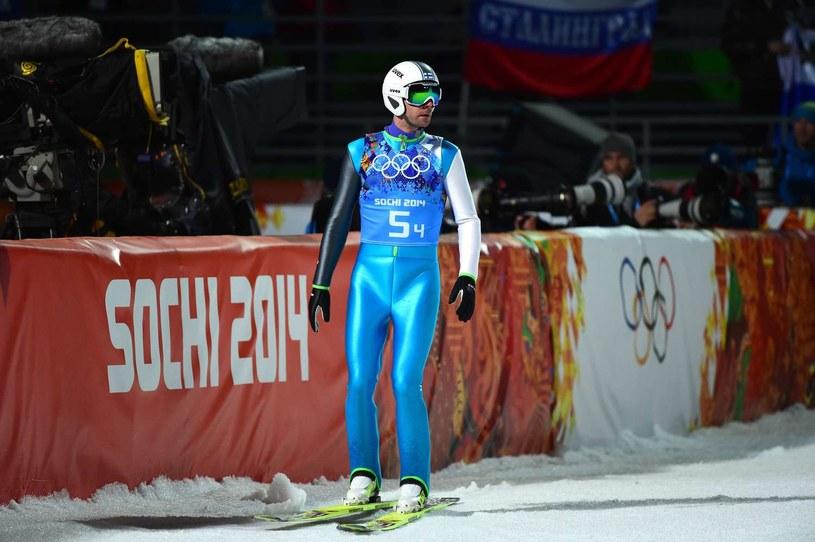 Janne Ahonen podczas igrzysk w Soczi /AFP
