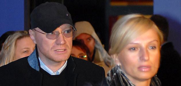 Janson z żoną, fot. Andrzej Szilagyi  /MWMedia
