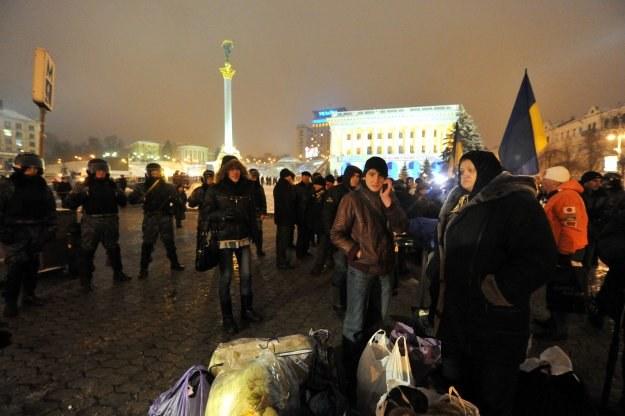 Janukowycz zaniepokojony protestami /AFP