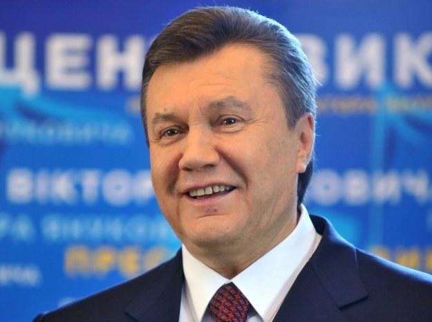 Janukowycz zapewnił, że Ukraina pod jego kierownictwem odbuduje stosunki z Rosją /AFP