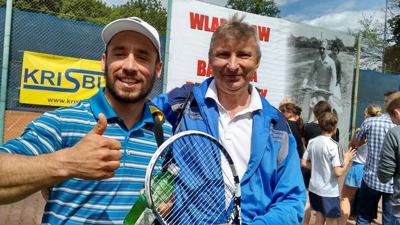 Janusz Bem (z prawej) i Mateusz Ligocki wygrali II Memoriał Władysława Radwańskiego w kategorii VIP /INTERIA.PL