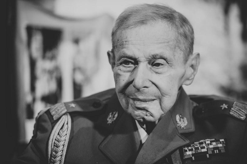"""Janusz Brochwicz-Lewiński ps. """"Gryf"""" zmarł w wieku 96 lat /Rafał Oleksiewicz /Reporter"""