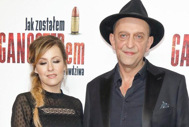 Janusz Chabior i Agata Wątróbska /Baranowski /AKPA