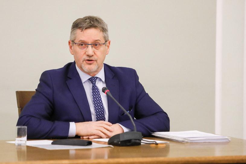 Janusz Cichoń otwiera listę Koalicji Obywatelskiej do Sejmu w okręgu olsztyńskim /Grzegorz Banaszak /Reporter