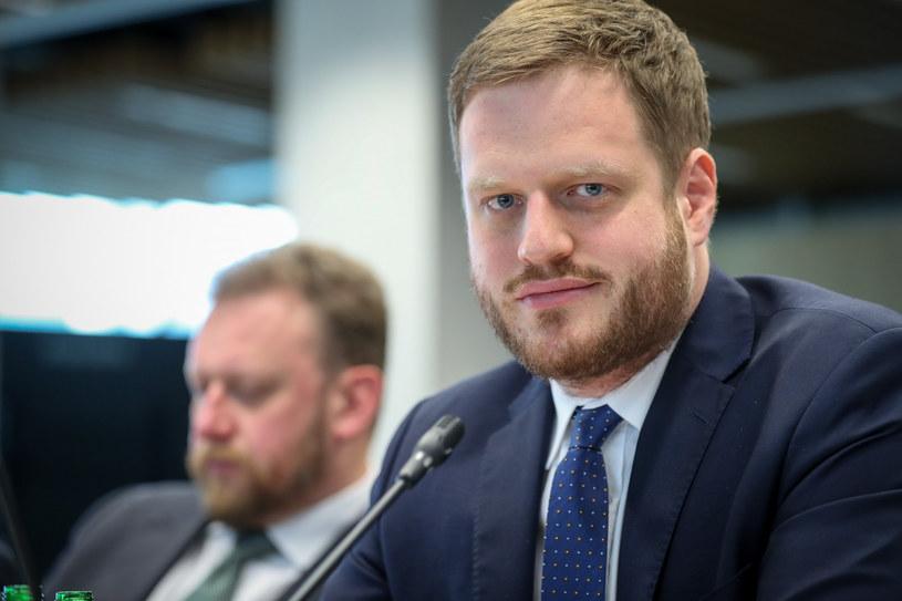 Janusz Cieszyński, sekretarz stanu ds. cyfryzacji /Andrzej Iwańczuk /Reporter