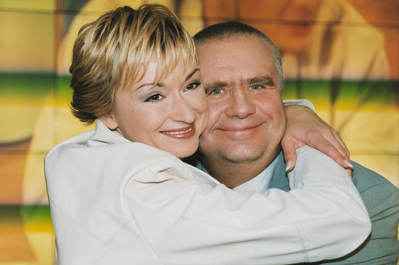 Janusz Dzięcioł i Martyna Wojciechowska /East News