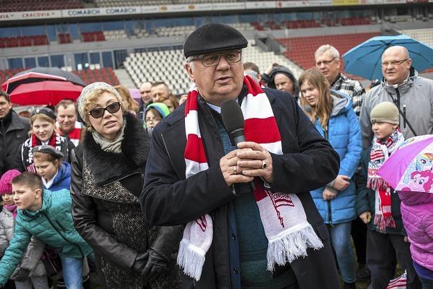 Janusz Filipiak i żona Elżbieta. Fot. Kuba Ociepa /AGENCJA GAZETA