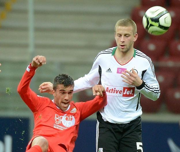 Janusz Gol (z prawej) odczuwa już trudy sezonu/fot. Bartłomiej Zborowski /PAP