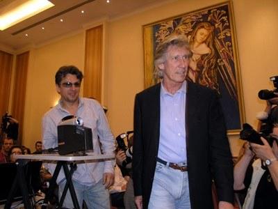 Janusz Józefowicz i Roger Waters /INTERIA.PL