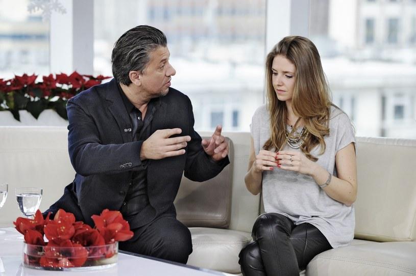 Janusz Józefowicz z córką /Piotr Bławicki /East News