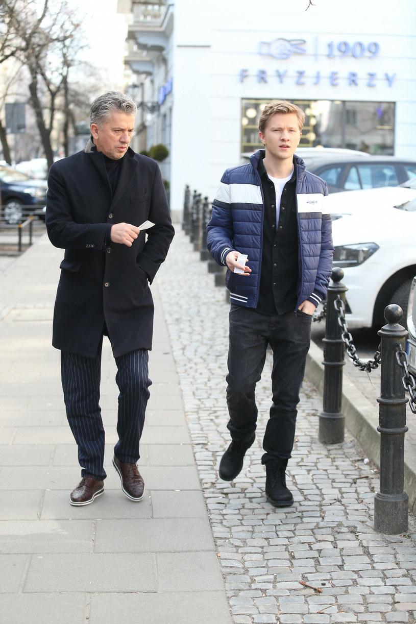 Janusz Josefovic con su hijo / VIPHOTO / East News