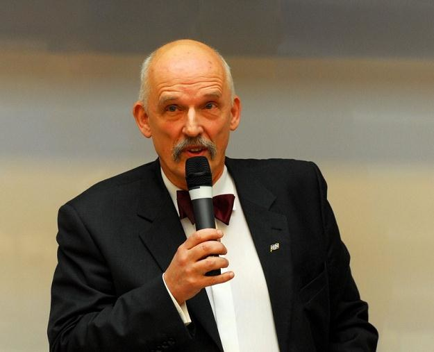 Janusz Korwin-Mikke, fot. Andrzej Zbraniecki /Agencja SE/East News