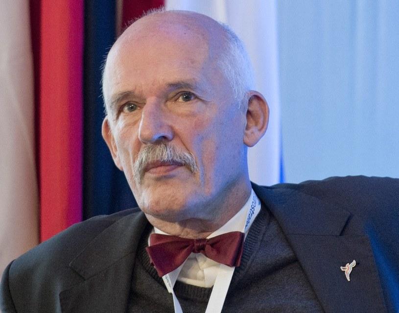 Janusz Korwin-Mikke, fot. Piotr Tracz/REPORTER /East News