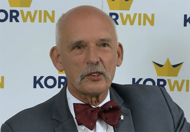 Janusz Korwin-Mikke: Polska musi się zbroić /INTERIA.PL