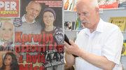 Janusz Korwin-Mikke: Tabloid opublikował fotki z jego podróży poślubnej z Dominiką