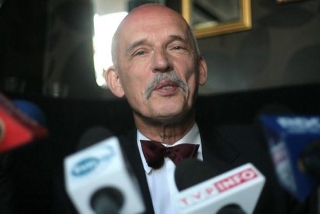 Janusz Korwin-Mikke / J. Waszkiewicz   /Reporter