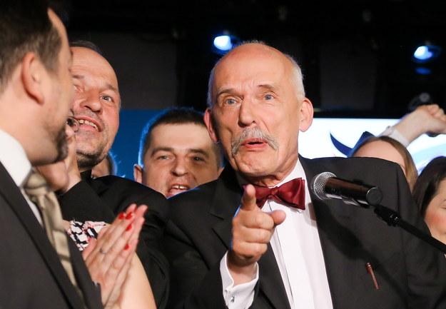 Janusz Korwin-Mikke /Paweł Supernak /PAP
