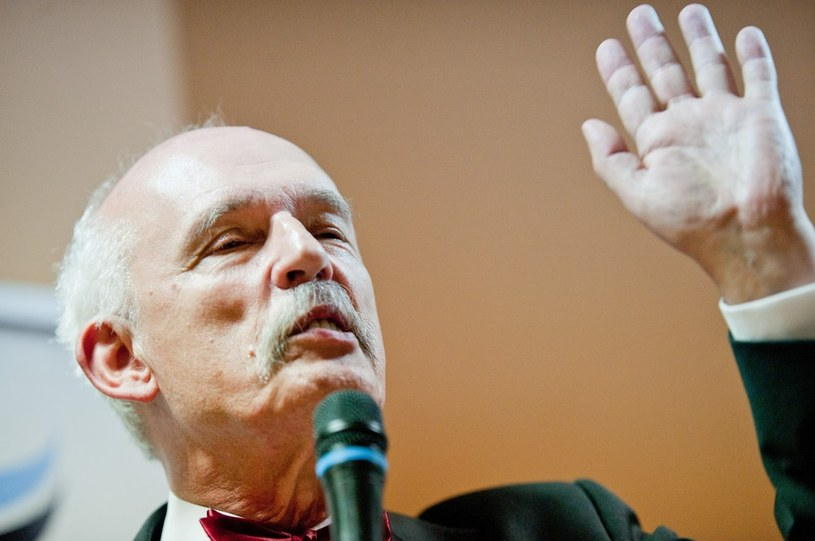 Janusz Korwin-Mikke /Łukasz Solski /East News