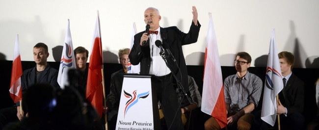 Janusz Korwin-Mikke /PAP/Jakub Kamiński  /PAP