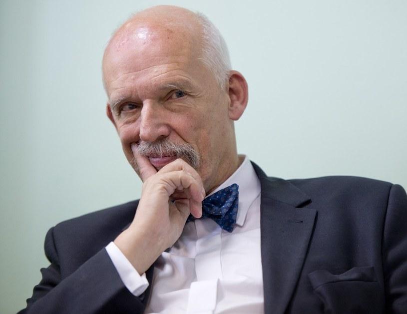Janusz Korwin-Mikke /PIOTR TRACZ/REPORTER /East News