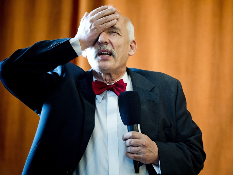 Janusz Korwin-Mikke /Reporter